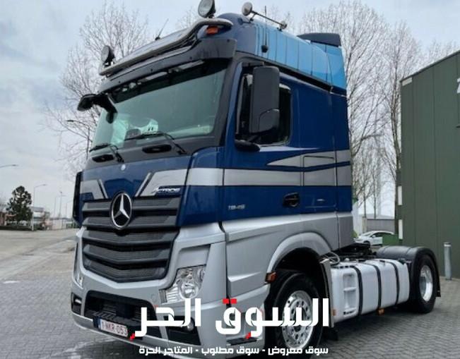 للبيع شاحنة مرسيدس اكتروس تفوق الوصف